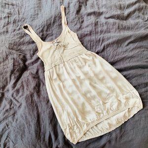 Young Fabulous & Broke silver silk dress